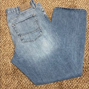 🖤 Nautical jeans 38x32 Great! Distressed